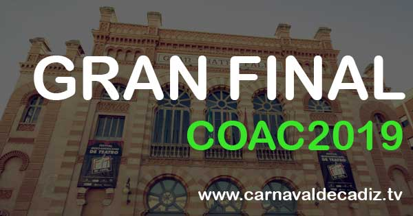 Gran Final COAC 2019 - Viernes 1 de marzo #COAC2019Final